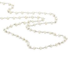 Drape of Pearls & Platinum Necklace