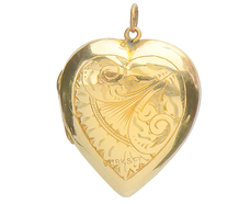 Vintage Memories - Heart Locket