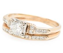 Together Forever: Diamond Wedding Set