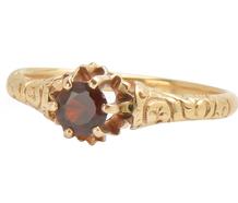 Sweet Style - Victorian Garnet Ring
