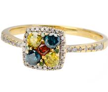 Prisma - Colored Diamond Ring