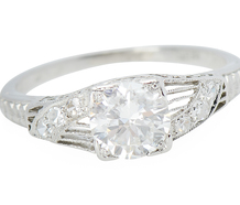 Beautiful Music - Diamond Platinum Ring