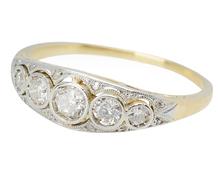 Delicacy & Femininity - Edwardian Diamond Ring
