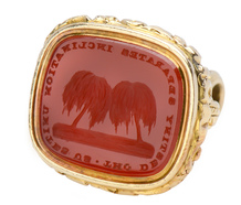 Meeting of the Minds - Georgian Carnelian Seal