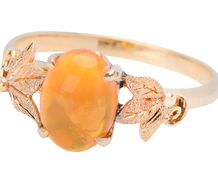 Gods of Fire: Mexican Fire Opal Ring