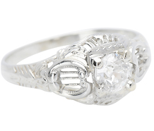 This Week's Special! Vintage .40 C Diamond Engagement Ring