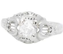 Celestial Music - Vintage Diamond Ring