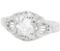 Celestial Music - Vintage Diamond Ring