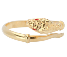 Forever - Italian Snake Motif Ring