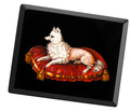 Museum Worthy Micro Mosaic of a Dog