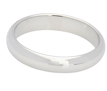 Jabel 18k White Gold Wedding Band