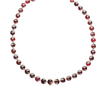 Edwardian Garnet Rivière Necklace