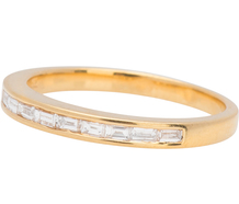 French Design - Diamond Set Eternity Band