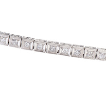 Stand in Line - Diamond Art Deco Bracelet
