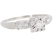 Engagingly Simple Solitaire Diamond Ring