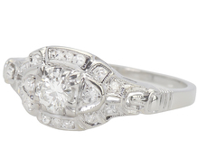 Classic Vintage Diamond Set Ring
