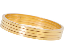 The Noble Metal - Italian Gold Bangles