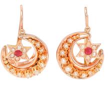 Celestial Guidance - Moon & Star Earrings