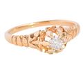 Decidedly Different Edwardian Diamond Ring