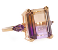 Mineral Zones - Ametrine Dinner Ring