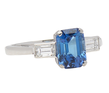 High Style -  Sapphire Diamond Ring