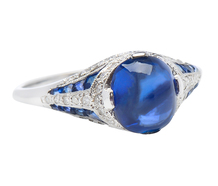Dream State - Sapphire Diamond Ring