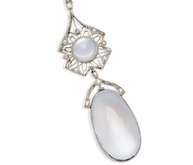 Moonshadow Edwardian Pendant