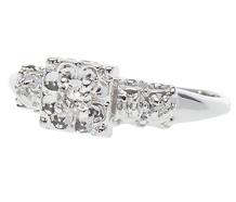 True Dreams - Art Deco Engagement Ring
