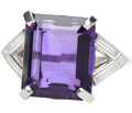Royalty in an Amethyst Diamond Ring
