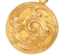 Sloan & Co. Art Nouveau Locket