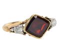 History Revealed - Garnet Ring of 1750