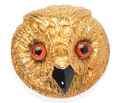 Wise Victorian Owl Brooch