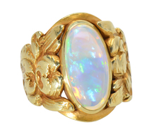 Tiffany & Co. Art Nouveau Opal Ring