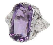 Hail King Tut - Revival Amethyst Ring
