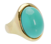 Botticelli's Beauty - Persian Turquoise Ring