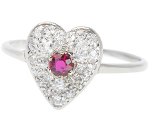 My Beating Ruby & Diamond Heart