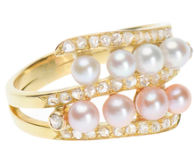 Culture of Luxury - Pearl Diamond Ring