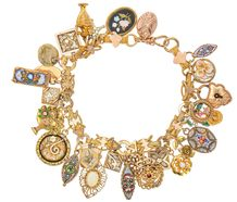 Too Much is Never Enough Charm Bracelet