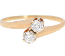 Edwardian Two Diamond Ring