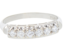 Jubilee of Love - Half Eternity Diamond Ring