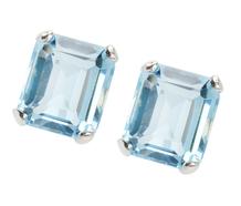 Skyfall - Aquamarine Earrings