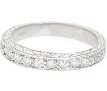 Just Because - Nine Diamond Half Eternity Band
