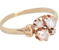 Opposites Attract - Mink Diamond Ring