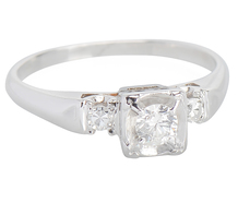 Simply Engaging Diamond Ring