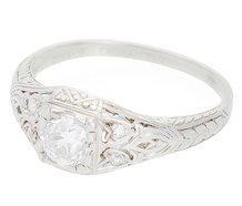 Essence of Timelessness - Diamond Engagement Ring