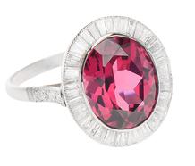 Raspberry Fields Forever - Rhodolite Garnet Ring