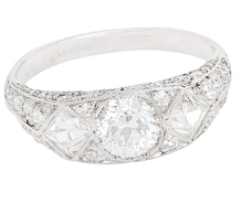 Wish Upon A Star Superlative Diamond Ring