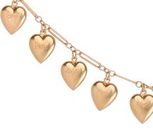 My Vintage Heart Dated Charm Bracelet