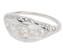 Arc of Promise - Art Deco Diamond Ring