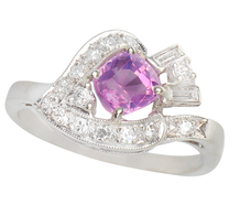 Love & Loyalty - Pink Sapphire & Diamond Ring